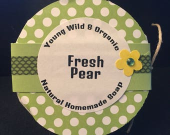 Fresh Pear || Natural Goat's Milk Soap