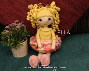 ELLA DOLL - PDF Crochet Pattern