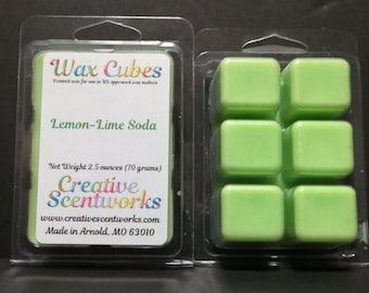 Lemon Lime Wax Melt Cubes