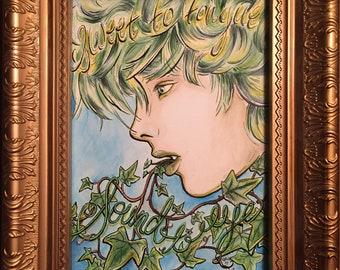 Goblin Cry Original Artwork