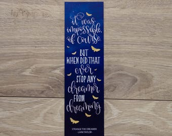 Any Dreamer from Dreaming - Bookmark
