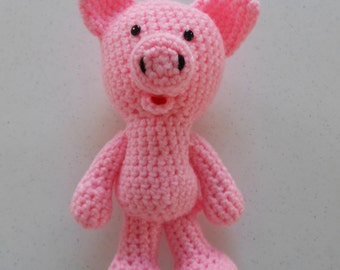 Amigurumi Pig : Amigurumi crochet cute pig pattern pippa the pig pattern