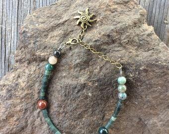 Healing and peacefulness  jade bracelet