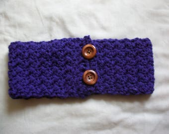 Earwarmer Headband in Purple