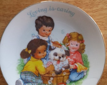 Avon Plate/Mother Day Plate/decorative dish/dish decoration/Avon Collectible/Avon Collectible Plates