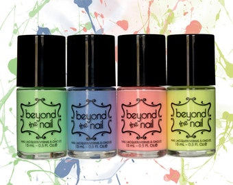 Soft Neon Collection - Second Release of Four Nail Polishes (Summer 2018)