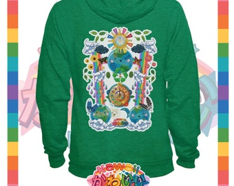 Kawaii Universe - Cute World Peace Showers Designer Hoody / Sweater (Unisex)