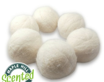 6 Scented Dryer Balls