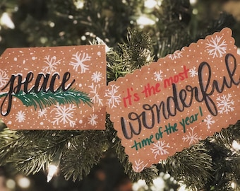Holiday Cards - Peace & It's the Most Wonderful Time of the Year