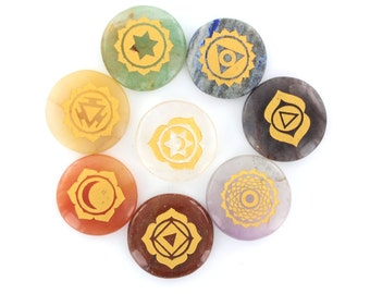 Power Engraved Healing Chakra Set