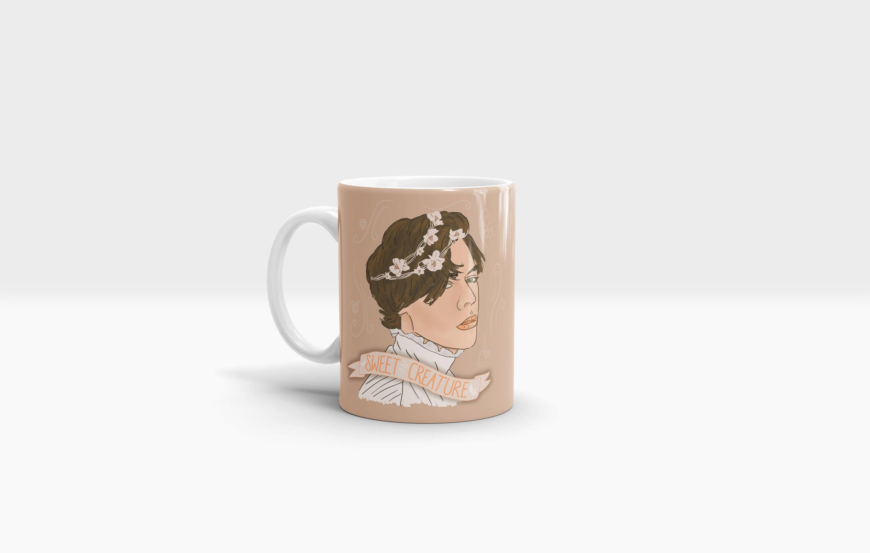 Sweet creature 11oz ceramic mug one direction harry styles zoom izmirmasajfo