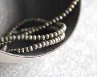 Set of 10 beads 4x3mm smooth rondelle semiprecious gemstone, Pyrite jewelry, Myo supply DIY