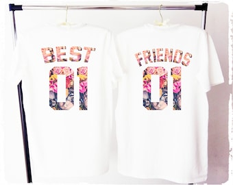 BEST FRIENDS shirts, best friends matching shirts, friends shirts, beste freunde shirts, best friends t-shirt, besties shirts, friends tees