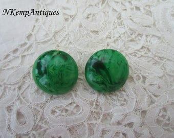 Vintage earrings clip ons