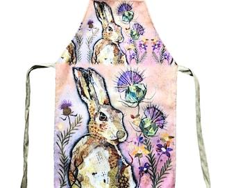 Hare & Thistle - Plush Apron (Prototype)