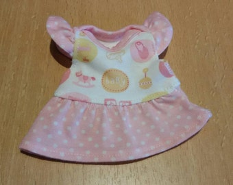 Sweet dress for 6.5-7 inch baby