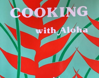 Hawaii Cooking with Aloha paperback  cookbook 1990s paperback