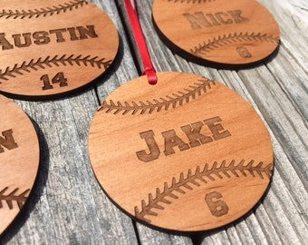Bulk Baseball Ornaments