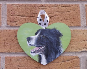 Pet portrait on wood