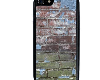 iPhone 5 5s 6 6s 6+ 6s+ SE 7 7+ iPod 5 6 Phone Case, Grunge Wall, Brick, Plus