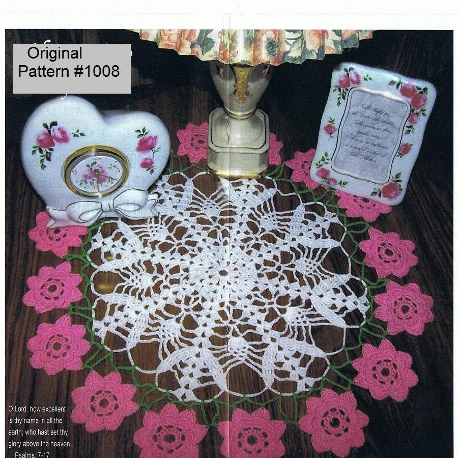 Häkeln Sie Deckchen Muster neue Originalversion