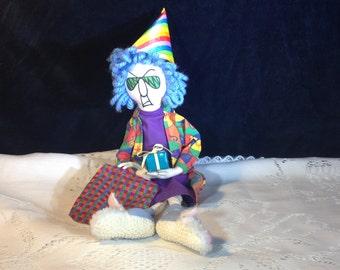 Hallmark Maxine Birthday Doll