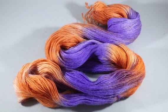 Hand Dyed Alpaca/Merino/Nylon Sock Yarn - Paradise