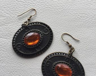 Vintage earrings dangle earrings boho earrings