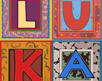 Pick ANY 4 Alphabet Letters