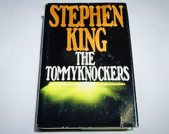 The Tommyknockers by Stephen King 1987 Vintage Edition Hardcover Book