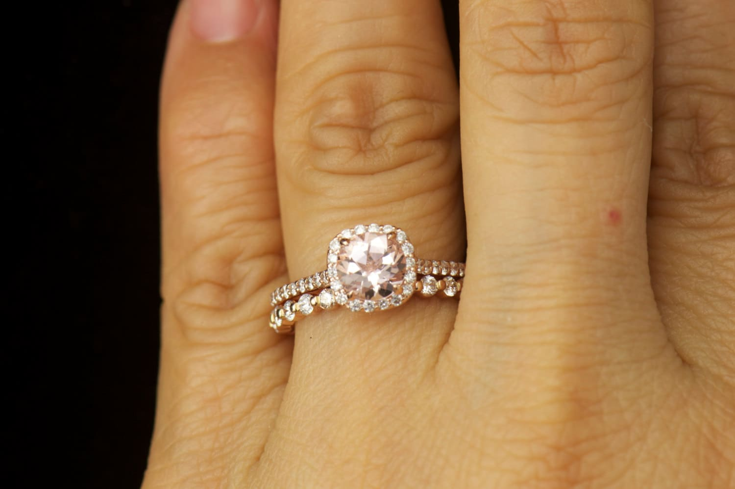 floating ring engagement single prong rings original products white band productimages diamond gold shared wedding
