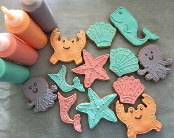 Sea Creatures 6 pc