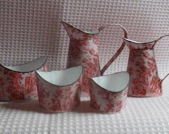 Miniature,dollhouse.Set of pots and pans