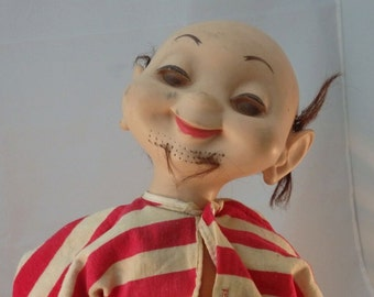 RARE! Vintage American Character Whimsie Doll Zack The Sack 1960