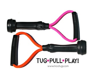 Dog Toys - BOGO Dog Toy Deal - You Choose Tug Colors - Two Original Size Mootugs