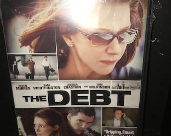 The Debt - Espionage Spy unopened DVD