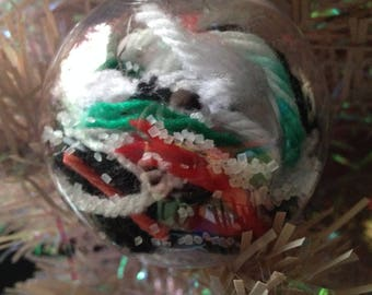 Melted Snowman Christmas Tree Holiday Ornament