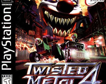 Twisted Metal 4 PS1 Great Condition Fast Shipping