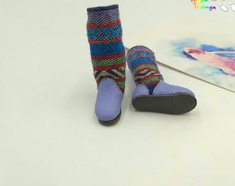 Blythe Momoko DAL Pullip Handmade Shoes Boots (Sunday)