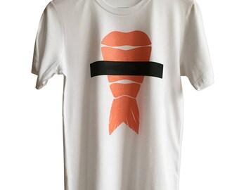 Shrimp Sushi T-Shirt, Ebi Nigiri Print