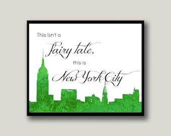 New York City Printable Art, Instant Download