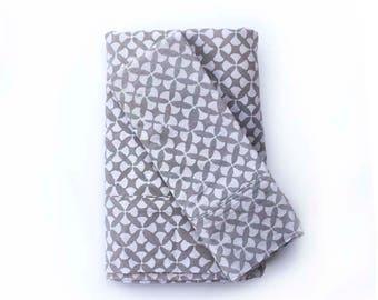 Gray Bedsheet Set Flat Sheet Pillowcases Bedding Cotton bedspread Geometric, sheet set, Sheets, Linens, Bedroom, Thread Count -  Geostar