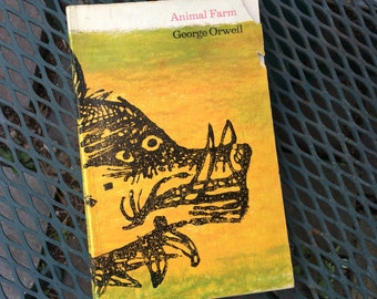 Animal Farm by George Orwell 1965 softcover