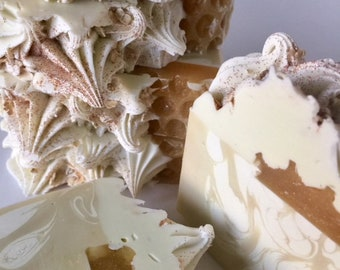 Oatmeal Milk & Honey Artisan Cold Process Soap (Style 2)