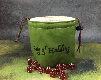 Dice Bag of Holding Many Pockets