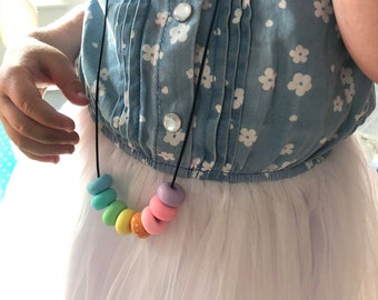 Unicorn necklace for little fashionistas