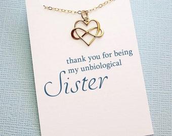 Best Friend Gift   Friendship Necklace, Unbiologial Sister Gift, Best Friend Necklace, Friends Friendship Gift, Best Friend Birthday Gift
