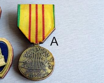 Wooden Medals Brooch Pin