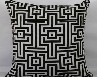 Black throw pillows outdoor pillows throw pillow covers 20x20 decorative pillow euro sham 26x26 pillow cover 24x24 pillow cover pillow shams