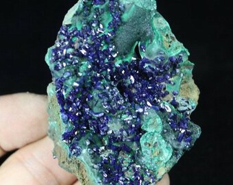105g Extreme Sparkling Blue Azurite from Liufengshan Anhui China CM671033